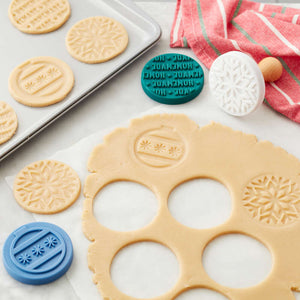 Wilton Christmas Cookie Stamp Set of 4