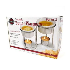 Norpro Ceramic Butter Warmers Set of 2