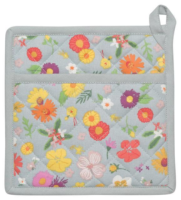 Now Designs Pot Holder Classic Flowers