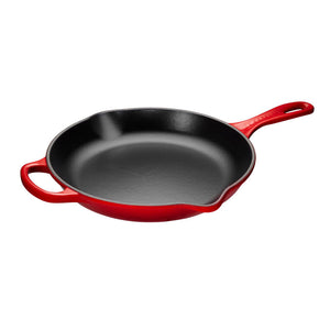 "Le Creuset Iron Handle Skillet 10"" - Cerise"