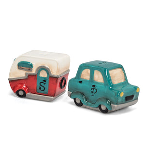 Abbott Salt & Pepper Set, Car & Camper