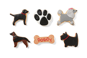 Fox Run Cookie Cutter Set, Dogs