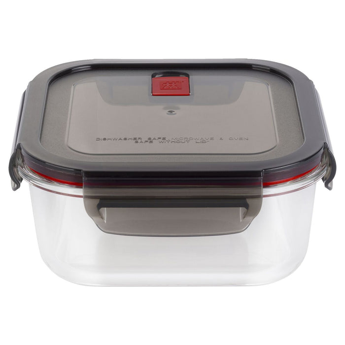 Zwilling Gusto Glass Storage Container 1L Square