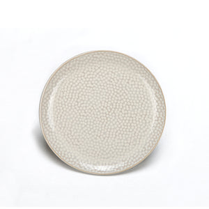 BIA TRUFFLES Canapé Plate, White