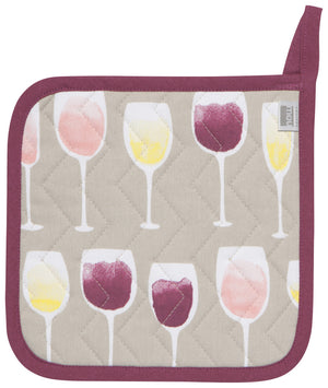 Now Designs Pot Holder - Wine Tasting