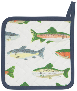 Now Designs Pot Holder Gone Fishin'