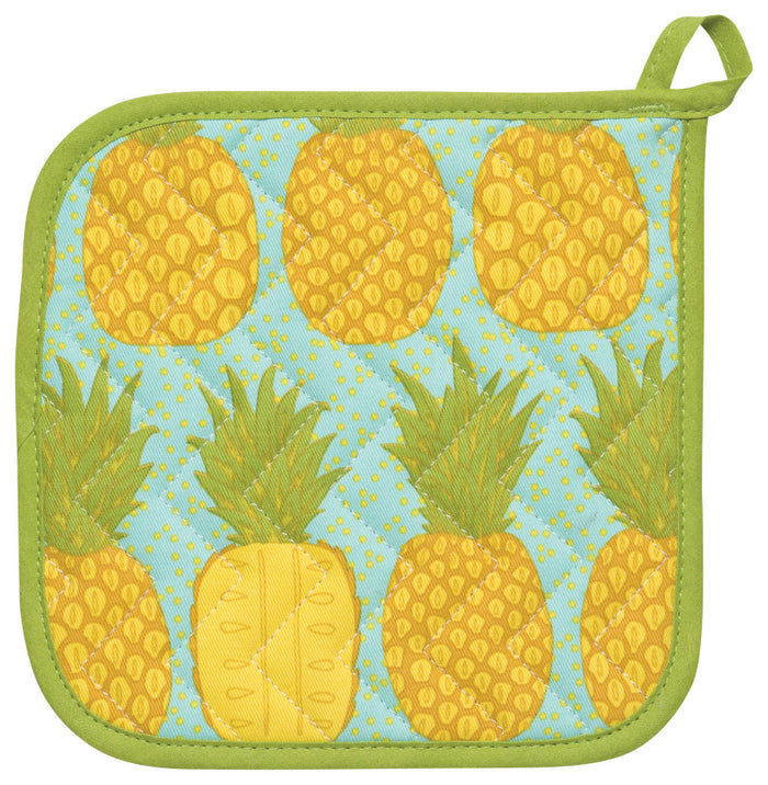 Now Designs Pot Holder Pineapples