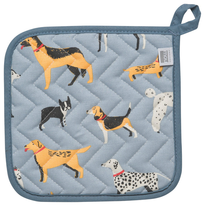 Now Designs Pot Holder, Dog Days