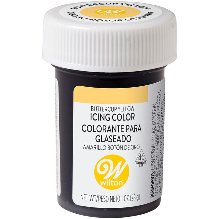 Wilton Icing Colour 1oz - Buttercup Yellow