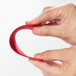 Cuisipro Red Flexible Bowl Scraper