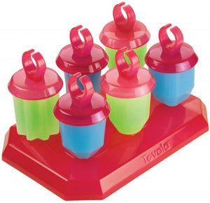 Popsicle Mold Jewels Set/6