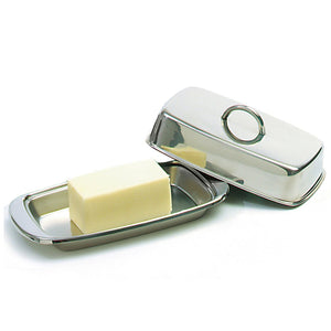 Danesco Stainless Steel Butter Dish