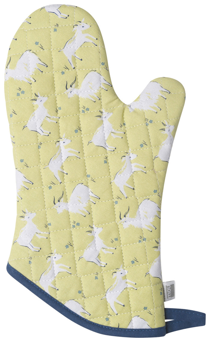 Now Designs Oven Mitt, Goats