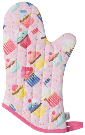 Now Designs Oven Mitt, Cupcakes