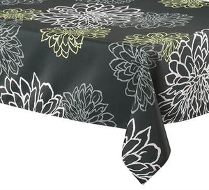 "Tablecloth 58"" x 78"" Contempo Black"