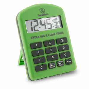 ThermoWorks Extra Big & Loud Timer - Green