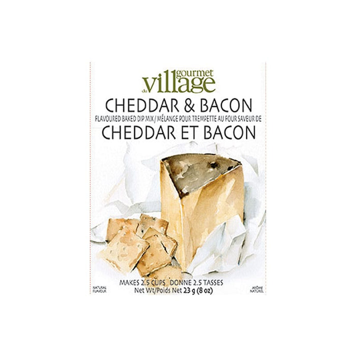 Gourmet Village Cheddar & Bacon Dip Mix