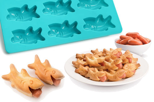 Mobi Mini Shark Bites Silicone Mold