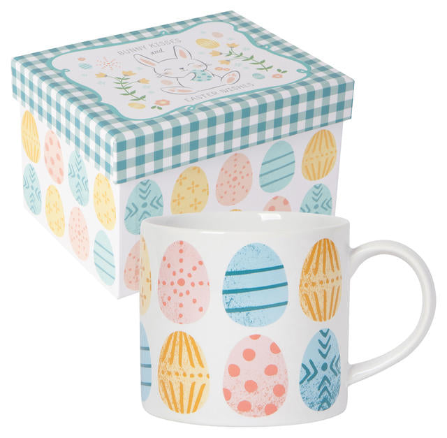Now Designs Mug in Box, Easter Eggs