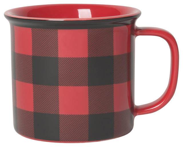 Now Designs Mug 14oz Heritage Buffalo Check