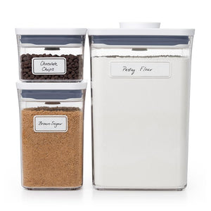 OXO POP 2.0 Removable Labels