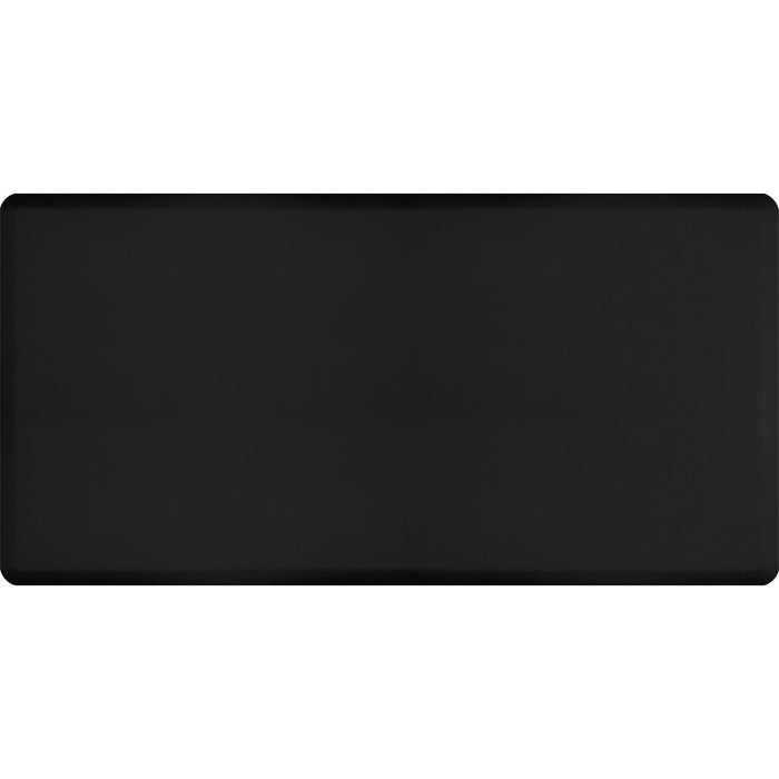 Wellness Mats Floor Mat 6'x2' Original Black