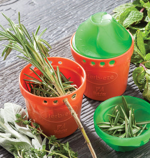 Hutzler Herb-Eze® Herb Stripper & Herb Storage