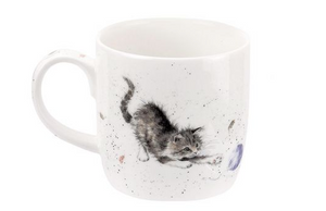 "Wrendale Mug 11oz Cat ""Cat and Mouse"""