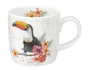 "Wrendale Mug 11oz Toucan ""Toucan of my Affection"""