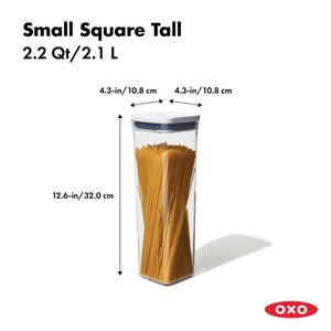 OXO POP 2.0 Small Square Tall 2.1L Container