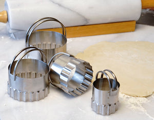 Endurance® Round Rippled-Edge Biscuit Cutters
