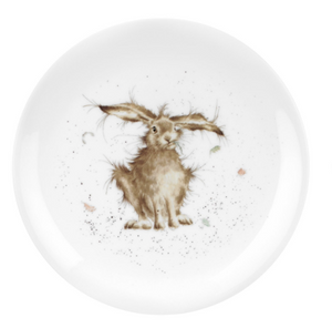 "Wrendale Plate 8"" Hare-Brained"