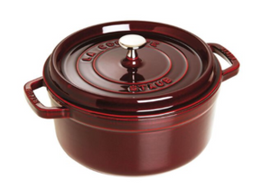 Staub Round Dutch Oven 5.2L Grenadine Red