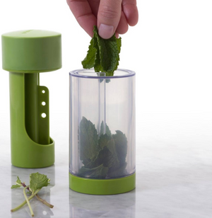 Microplane 2-in-1 Herb Mill - Herb Stripper & Mincer