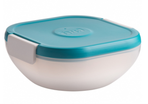 FUEL Salad on the Go Container - Tropical Blue