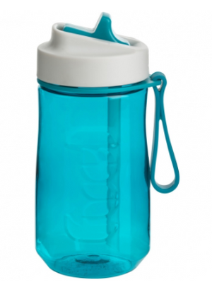 FUEL Splash Water Bottle 15oz, Tropical Blue