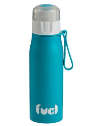 FUEL Stainless Steel Sports Water Bottle 17oz - Tropical Blue