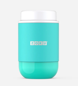 Zoku Neat Stack Food Jar 16oz - Teal