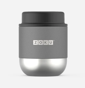 Zoku Neat Stack Food Jar 10oz, Stainless Steel