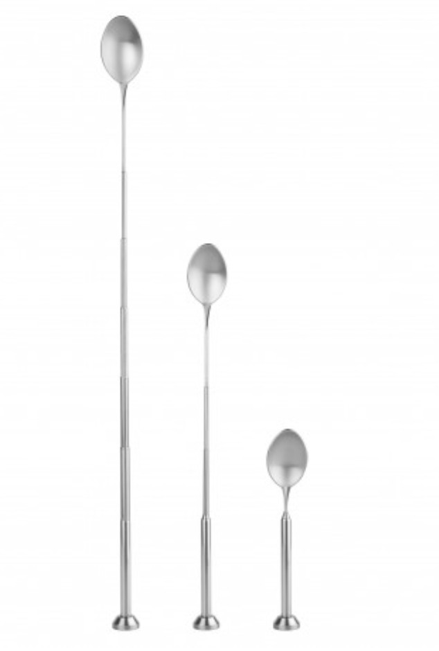 Final Touch Telescopic Bar Spoon