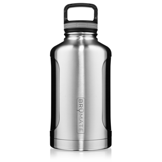 "BrüMate Growler 64oz - Stainless Steel ""GROWL'R"""