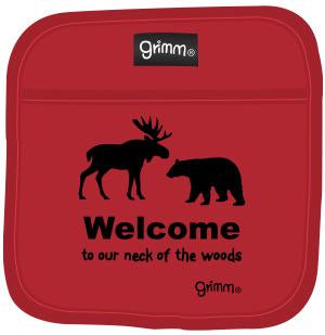 Grimm Pot Holder, Welcome to Our Neck of the Woods
