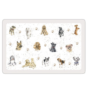 Wrendale Flexible Pet Placemat, Dogs