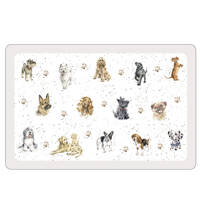 Wrendale Flexible Pet Placemat - Dogs