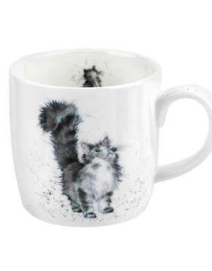 "Wrendale Mug 11oz Cat ""Lady of the House"""