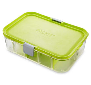 PACKIT Flex Bento Lunch Container - Lime Punch