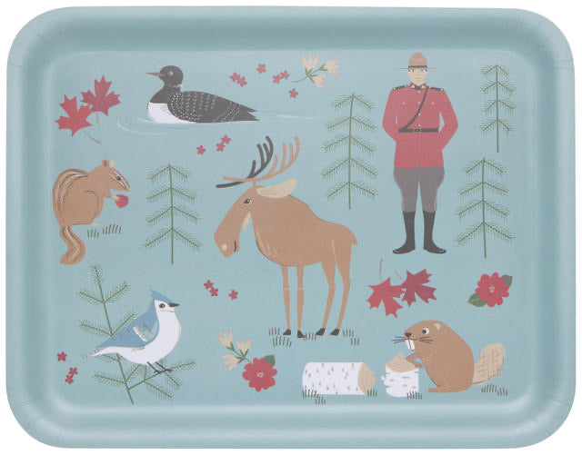 "Now Designs Rectangular Tray 14"" True North"