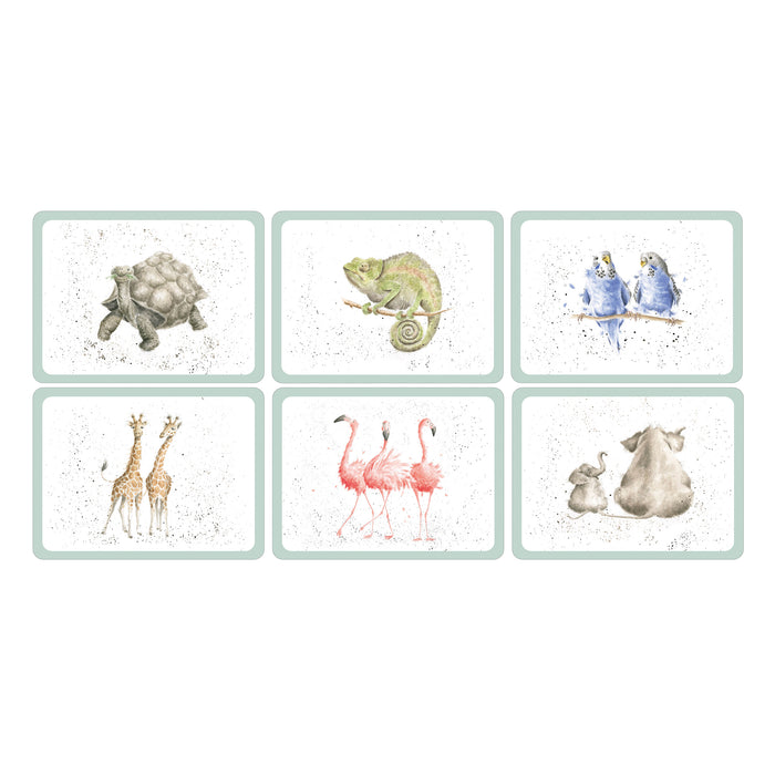 Pimpernel Placemats Set/6 - Wrendale Zoology