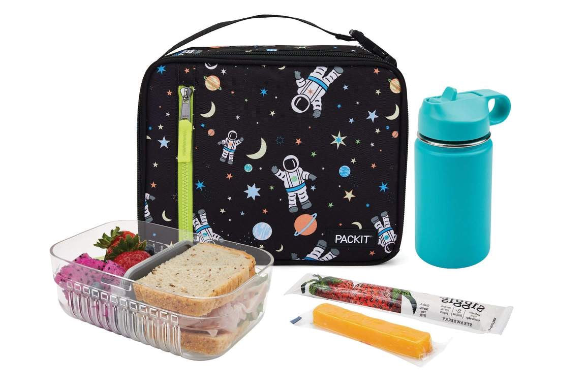 PACKIT Freezable Classic Lunch Bag, Spaceman