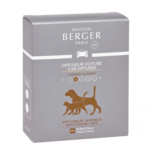 Maison Berger Car Diffuser Refill Anti-Odor Pet Care